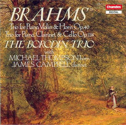 s 勃拉姆斯 圆号三重奏和单簧管三重奏